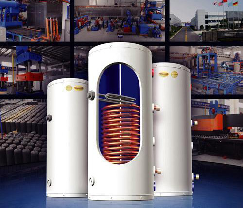 Gomon Cutaway - Pressurized Hot Water Tank -We can help find you the hot water tank to suit your needs.  Choose from our fine selection of hot water capacities and heat exchange coils for your convenience! - sdhw-tanks - Gomon Cutaway