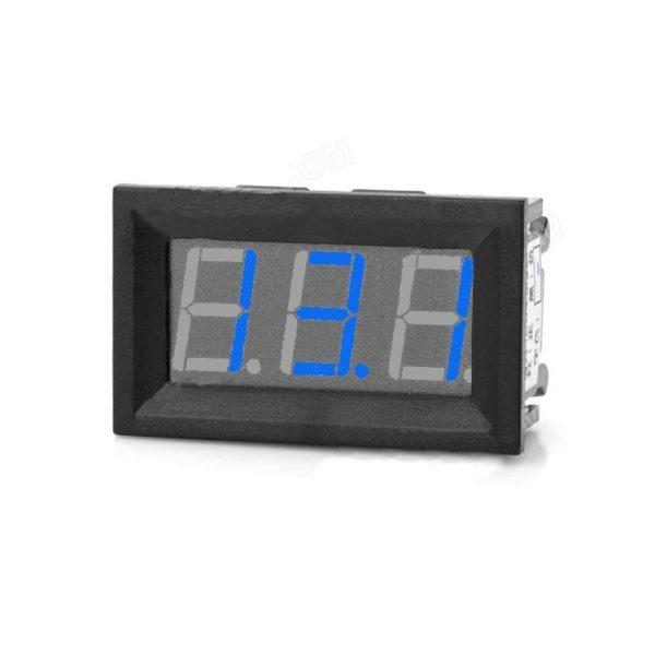 Blue Panel Mount 50A LED Ammeter