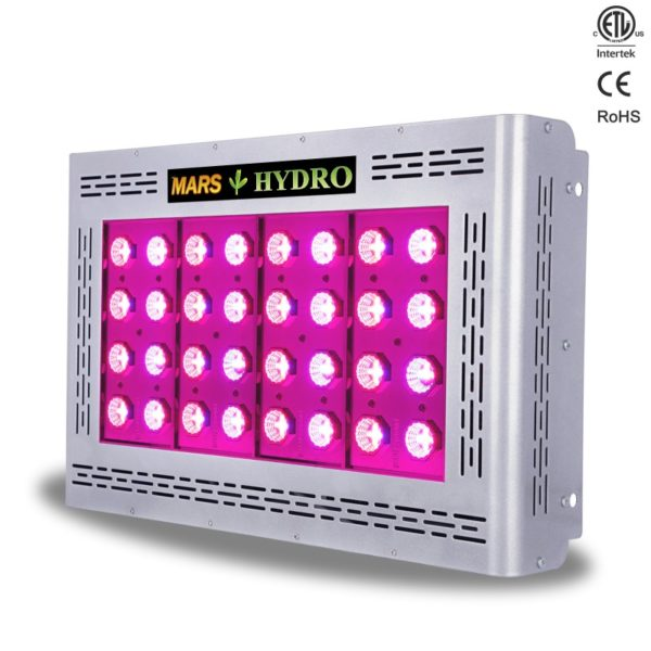 etl160 1 1 6 600x600 - Mars Pro II Epistar 160 LED grow light 350W (with switches)(CA) -Optics Technology: Spectra technology delivers uniform coverage at 100% efficiency & power..  Plug & Play Device: There is no need to purchase additional equipment.  Two Growth Modes for Use: Full spectrum for all growing circle! Choose veg or bloom switches for your own growing needs.  Maximum Coverage:Unique design offers largest coverage area possible without sacrificing performance.  Powerful LED's:Next Generation High Intensity Epistar™ LED's. (HI-LED) - mars-hydro - etl160 1 1 6 600x600