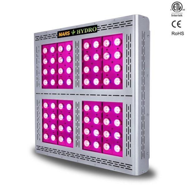 etl320 2 11 600x600 - Mars Pro II Epistar 320 LED grow light 750W(with switches)(CA) -Mars Pro II Epistar™ 320 LED Grow Light with veg and bloom switches to control different growing modes. Upgrated power supply, fans and chips, provide you the highest built quality of Mars Hydro. With the creative reflector cup design to give out the perfect mixed spectrum lights, meet the needs of those who must have the absolute highest quality harvest possible. - mars-hydro - etl320 2 11 600x600