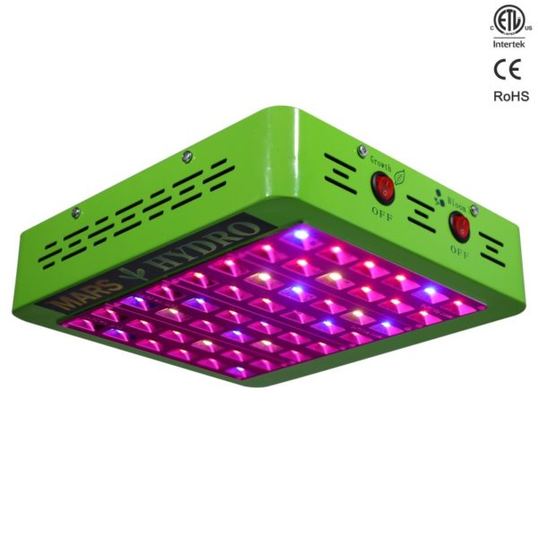 etl48 1 1 600x600 - Mars Reflector 48 LED grow light (CA) -The Reflector 48 is the most cost-effective lights we offer for 2'x2' area. With reflector design, and upgrated 5w chips, as well as full spectrum, it can ensure your growing to maximum quality and yields. - mars-hydro - etl48 1 1 600x600