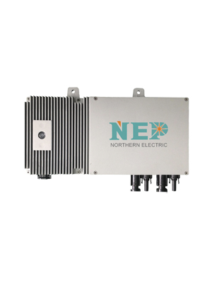 717abb171a335288 - NEP BDM-600 DUAL MICROINVERTER, DAISY CHAIN VERSION -The NEP BDM-600-D (BDM600D) is a solar dual microinverter. The NEP BDM-600-D microinverter was designed with integrated grounding for easy installation and features a high continuous output power of up to 500Wac with a recommendation to work with a dual maximum of 330W solar panels; high efficiency with 95.5% CEC; and cable options of a daisy chain. - grid-tied - 717abb171a335288