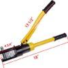 718682731 o 100x100 - 16 Ton Hydraulic Battery Wire Crimping Tool + 11  Cable Lug Dies -16 Ton Hydraulic Wire Crimper Crimping Tool 11 Dies Battery Cable Lug Terminal - tools, con-ele - 718682731 o 100x100