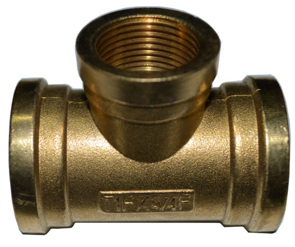 BSP TEE Female 600x503 - Brass Female BSPP Tee Pipe Fitting -Brass Female BSPP Tee BSP Pipe Fittings Adapter For Air/Fuel/Water/Glycol - sdhw-con - BSP TEE Female 600x503