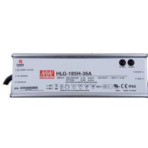 HLG 185H 36A 300x300 - HLG-185H-36A -AC-DC Single output LED driver Mix mode (CV+CC); Output 36Vdc at 5.2A; IP65; cable output - led-parts - HLG 185H 36A 300x300