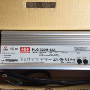 HLG 320H 42a 1 300x300 - HLG-320H-42B -AC-DC Single output LED driver Mix mode (CV+CC); Output 42Vdc at 7.65A; IP67; cable output; Dimming with 1-10V PWM resistance - led-parts - HLG 320H 42a 1 300x300
