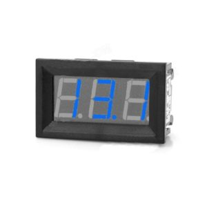 Blue Panel Mount 50A LED Ammeter