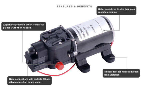 20161117164337 87011 600x360 - 80psi DC Small Electric Agriculture ATV Sprayer Pump -<strong>DC agricultural pump</strong> may be used for general water transfer, sprayer pumps, small rain system, or other industry usage - water-pumps - 20161117164337 87011 600x360