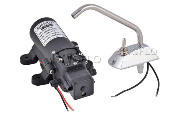 20161222140230 21337 600x398 - 12V Self-priming Galley pressure pump set w/faucet - - water-pumps, marine-pumps - 20161222140230 21337 600x398