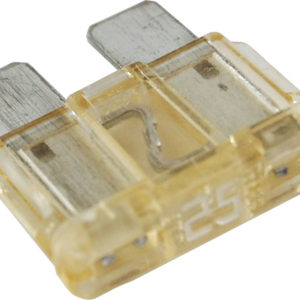 25A 300x300 - ATC/ATO/APR Automotive Standard Blade Fuse - 25A, Package of 1 -Amperage: 25A, Quantity: Package of 1 -  - 25A 300x300