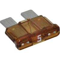5A - ATC/ATO/APR Automotive Standard Blade Fuse - 5A, Package of 5 - -  - 5A