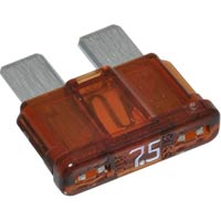 7.5A - ATC/ATO/APR Automotive Standard Blade Fuse - 7.5A, Package of 5 - -  - 7.5A