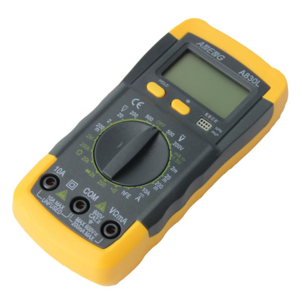 HTB11MMWMVXXXXcRXpXXq6xXFXXXs 600x600 - A830L LCD Digital Multimeter DC AC Multimeter -The meter is a hand held 3-1/2 digital multimeter for measuring AC/DC voltage and AC/DC current, resistance, diode , transistor, frequency, temperature and continuity test. Battery operated. - volt-meters, amp-volt-meters, ammeters - HTB11MMWMVXXXXcRXpXXq6xXFXXXs 600x600