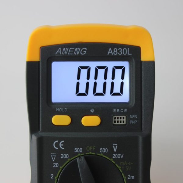 HTB1HeRfNXXXXXa.XpXXq6xXFXXXf 600x600 - A830L LCD Digital Multimeter DC AC Multimeter -The meter is a hand held 3-1/2 digital multimeter for measuring AC/DC voltage and AC/DC current, resistance, diode , transistor, frequency, temperature and continuity test. Battery operated. - volt-meters, amp-volt-meters, ammeters - HTB1HeRfNXXXXXa.XpXXq6xXFXXXf 600x600