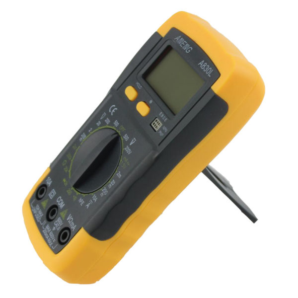 HTB1RfNkNXXXXXbDXXXXq6xXFXXXd 600x600 - A830L LCD Digital Multimeter DC AC Multimeter -The meter is a hand held 3-1/2 digital multimeter for measuring AC/DC voltage and AC/DC current, resistance, diode , transistor, frequency, temperature and continuity test. Battery operated. - volt-meters, amp-volt-meters, ammeters - HTB1RfNkNXXXXXbDXXXXq6xXFXXXd 600x600