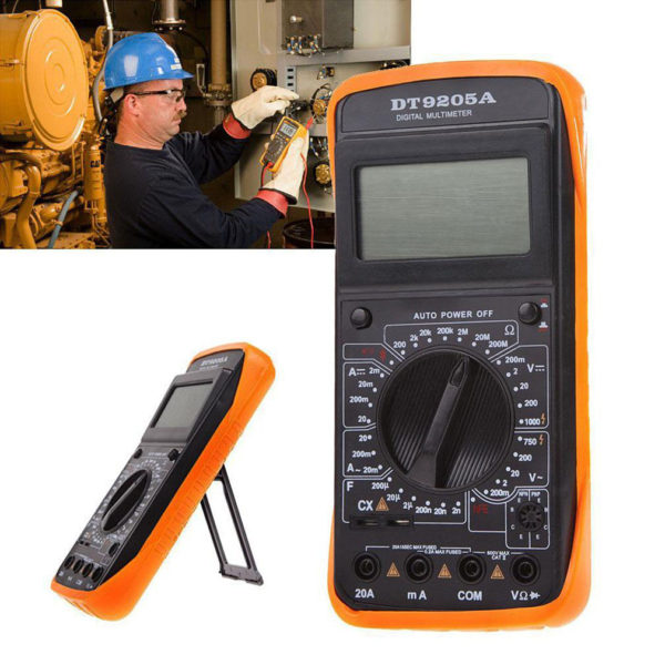 tt 600x600 - DT-9205A AC DC LCD Display Professional Electric Handheld Digital Multimeter -DT-9205A AC DC LCD Display Professional Electric Handheld Tester Meter Digital Multimeter Multimetro Ammeter Multitester - volt-meters, amp-volt-meters, ammeters - tt 600x600