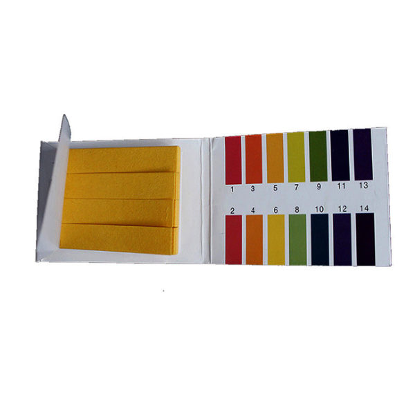 1 2 600x600 - PH Test Strips 1-14 Indication - 1 Book of 40 Strips -Each book also includes a color chart. Litmus paper is invaluable for testing the acid and alkaline levels in all kinds of applications from spas, ponds and aquariums to conducting scientific experiments. It can be used to test the viability of glycol and antifreeze products. - tools, glycol-and-chemicals, inst-env - 1 2 600x600