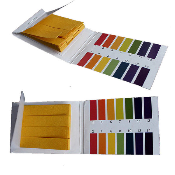 2 1 600x600 - PH Test Strips 1-14 Indication - 1 Book of 40 Strips -Each book also includes a color chart. Litmus paper is invaluable for testing the acid and alkaline levels in all kinds of applications from spas, ponds and aquariums to conducting scientific experiments. It can be used to test the viability of glycol and antifreeze products. - tools, glycol-and-chemicals, inst-env - 2 1 600x600