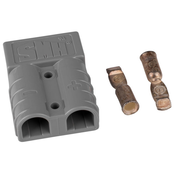 50A 2 600x600 - Anderson Style Battery/Power Connector -Anderson style connector compatible with SB350,SB175,SB120,SB50 and others - con-ele - 50A 2 600x600