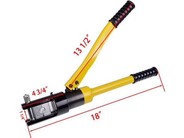718682731 o 600x450 - 16 Ton Hydraulic Battery Wire Crimping Tool + 11  Cable Lug Dies -16 Ton Hydraulic Wire Crimper Crimping Tool 11 Dies Battery Cable Lug Terminal - tools, con-ele - 718682731 o 600x450