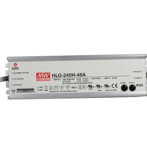 HLG 240H 48A 300x300 - HLG-240H-48A Meanwell Driver -AC-DC Single output LED driver Mix mode (CV+CC); Output 48Vdc at 5A; IP65; cable output - led-parts - HLG 240H 48A 300x300