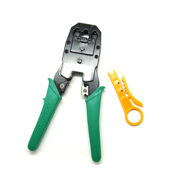 IMG 4444 600x600 - KS - 315 Multipurpose Cable Crimp / Stripper / Cutting Tool for RJ45/RJ11/RJ12 -Cable crimp tool for network cable, telephone cable, and handset connectors. KS - 315 professional cable crimp / stripper / cutter network tool with line card knife. - tools - IMG 4444 600x600