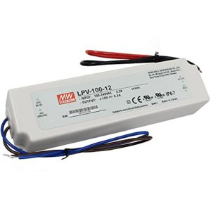 LPV 100 12 300x300 - LPV-100-12 -AC-DC Single output LED driver Constant Voltage (CV); Output 12Vdc at 8.5A; cable output - sign-led, led-parts - LPV 100 12 300x300