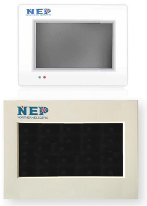 d2db8623552d13d2 - NEP Inverter Monitor and Gateway -The NEP BDG-256 Gateway (BDG256 Gateway) monitors a single phase solar system without a phase couper. The BDG-256 (BDG256)'s touch screen creates a user friendly interface complete with instant readings on each individual NEP solar inverter for trouble shooting. It also comes with an online web portal interface for configuring NEP BDM microinverters and supports a variety of applications, such as dual voltage and dual frequency, Wi-Fi and mobile data networks, and USB interfaced bar code scanners for quick installation - grid-tied - d2db8623552d13d2