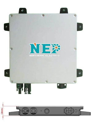 e0227fd1e5261432 - NEP BDM-300-D MICROINVERTER -The NEP BDM-300-D (BDM300D) is a great choice for your solar microinverter. Not only is the NEP BDM-300-D (BDM300D) a part of the thinnest microinverters in the world with its 25mm in thickness, but it also was designed for both frame mount (AC modules) and rail mount solutions. The NEP BDM-300-D (BDM300D) features a high continuous output power of up to 250Wac with a recommendation to work with a maximum of 330W solar panels; high efficiency with 95.5% CEC coupled with a peak efficiency of 96.3%; and cable options of a daisy chain. - grid-tied - e0227fd1e5261432