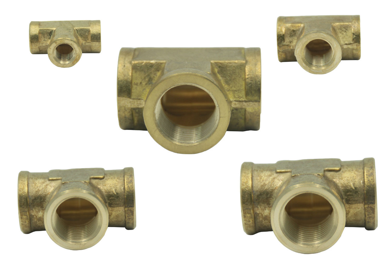 Brass Female BSPP Tee Pipe Fitting  sc 1 st  Unplugged Power Systems & Brass Female BSPP Tee Pipe Fitting | UnpluggedPowerSystems
