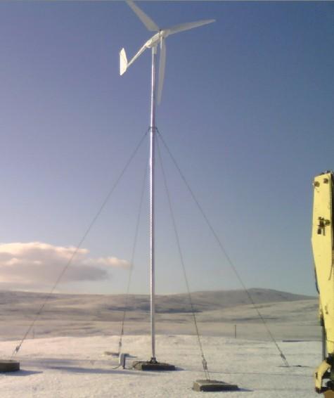 13178887500 - 2 kW Wind Turbine -2 kW Wind turbine  Includes turbine (nacelle, blades, tail) and controller - wind-turbines - 13178887500