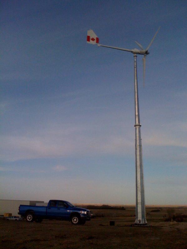 13819290840 600x800 - 5 kW Wind Turbine -5 kW Wind turbine  Includes turbine (nacelle, blades, tail) and controller - wind-turbines - 13819290840 600x800