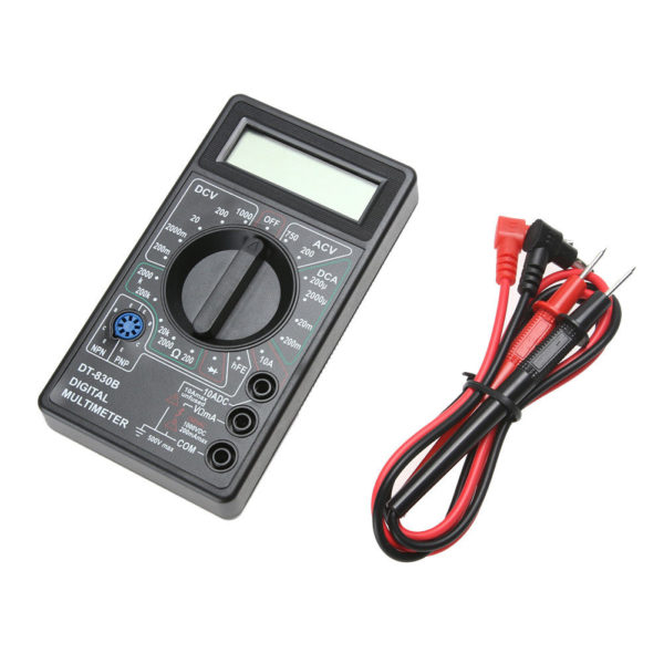 2 600x600 - DT830B LCD Digital Multimeter -DT830B LCD Digital Voltmeter Ammeter Ohmmeter Multimeter Volt AC DC Tester Meter - amp-volt-meters - 2 600x600