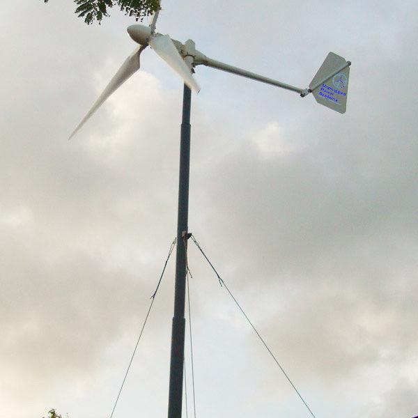 UP1KB1 600x600 - 1 kW Wind Turbine -1 kW Wind turbineIncludes turbine (nacelle, blades, tail) and controller - wind-turbines - UP1KB1 600x600