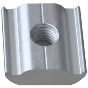 UPSRM TIM 25 300x300 - Nut type Anchor for Solar Mounting Rail -Aluminum anchor to connect devices to solar mounting rail system. Nut only, no screw.  Anodized aluminum - solar-mounting-equipment - UPSRM TIM 25 300x300
