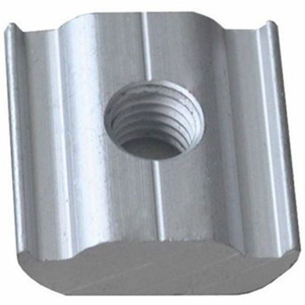 UPSRM TIM 25 600x600 - Nut type Anchor for Solar Mounting Rail -Aluminum anchor to connect devices to solar mounting rail system. Nut only, no screw.  Anodized aluminum - solar-mounting-equipment - UPSRM TIM 25 600x600