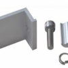 Z Clamp Kit 100x100 - Z Clamp Solar Mount End Clamp Kit -Clamp for the end point of a solar panel to secure it to a solar mounting rail. Includes clamp, stainless steel screw, washer, lock washer and anchor.  Anodized aluminum with stainless steel bolt.  Choose the size that matches the thickness of the solar panel you are mounting. - solar-mounting-equipment - Z Clamp Kit 100x100