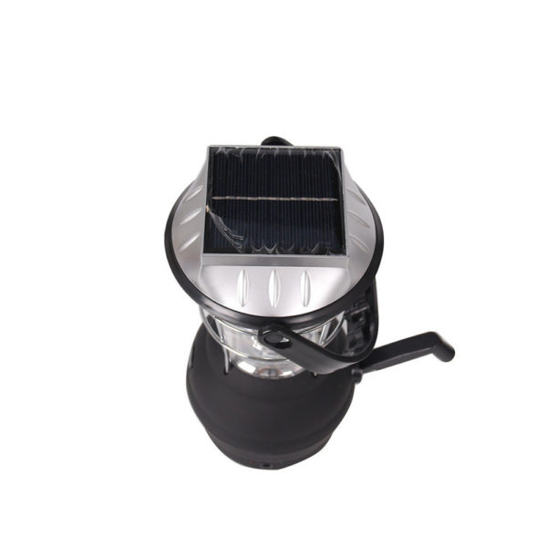"b 600x600 - Solar Outdoor Camping Lantern -<div id=""title"" class=""panel-heading""> Features</div> <div id=""text-body"" class=""panel-body""> <ul> <li style=""list-style-type: none;""> <ul> <li>Just one minute of easy cranking at approximately 120 rpm provides 20 minutes of light</li> </ul> </li> </ul> <ul> <li style=""list-style-type: none;""> <ul> <li>Crank Power or Solar Power</li> </ul> </li> </ul> <ul> <li style=""list-style-type: none;""> <ul> <li>Great for camping, hiking, power outages, boating, auto and more</li> </ul> </li> </ul> <ul> <li style=""list-style-type: none;""> <ul> <li>Hanging/Carrying Handle</li> </ul> </li> </ul> <ul> <li style=""list-style-type: none;""> <ul> <li>Solar Charging Time: Approximately 6 Hours</li> </ul> </li> </ul> <ul> <li>No charger included with this item</li> </ul> </div> - solar-powered-devices - b 600x600"