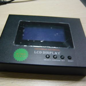 external LCD display 300x300 - Remote LCD Monitor for Charging Inverters -Remote LCD Monitor for charging inverters. Includes 5 meter cable. - inv-acc - external LCD display 300x300
