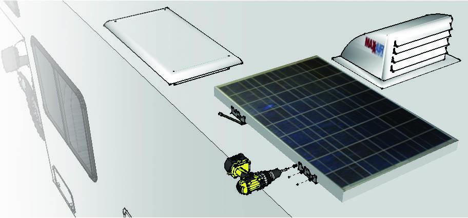 mounting-kit Solar Panel RV Mounting Kit