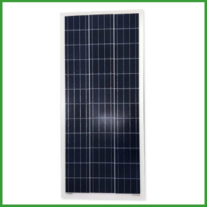 poly crystalline solar panel 90w 300x300 - 100W 12V Polycrystalline Solar Panel -Great economical solar panel for use on RVs, small camp systems, off-grid lighting, and anywhere 12V solar systems are required.Cell Type                                  PolycrystallineNo of Cell                                36 (3x12pcs)Dimensions                            1200x550x30mmWeight                                    7.6KGSFront Glass                            3.2mm,High Transmission, Low Iron,Tempered GlassJunction box                            IP65 RatedOutput Cable                           MC4 Terminated 12AWG - solar-pv-panels - poly crystalline solar panel 90w 300x300