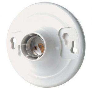 451634 1 3 300x300 - Leviton Keyless Lamp holder -Leviton Keyless Lamp holder - White plastic - suitable for AC or DC LED lighting - led-parts, dc-accessories - 451634 1 3 300x300