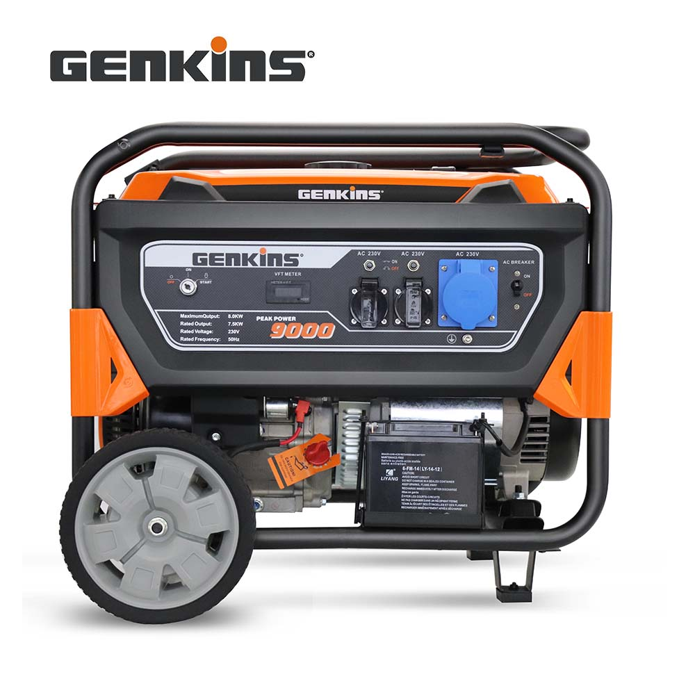 "GK9000 2 - 9000W Gasoline Generator -<img class=""aligncenter size-full wp-image-18683"" src=""https://unpluggedpowersystems.ca/wp-content/uploads/2019/01/9000spec_f752.jpg"" alt="""" width=""1112"" height=""348"" /> - genset-ac-gas - GK9000 2"