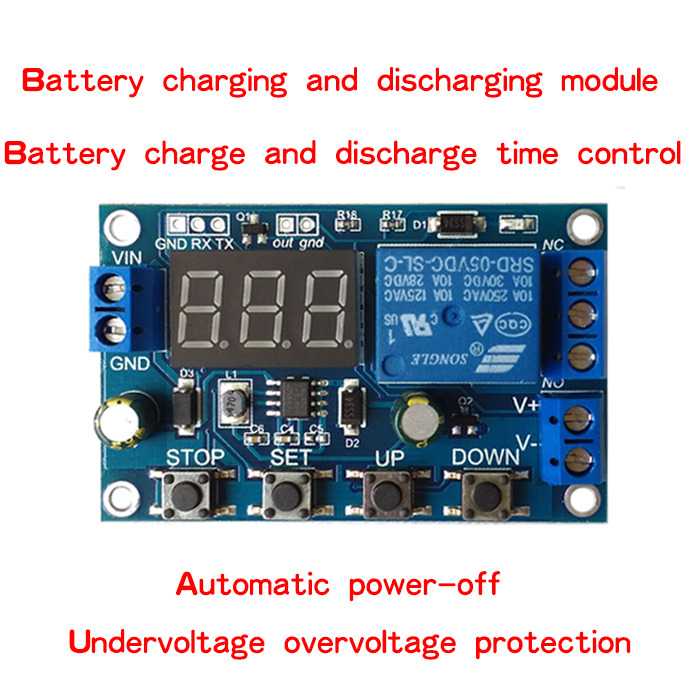 Voltage Controlled Switch Module