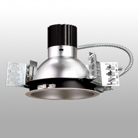 "14084986951366 448x448 - 10"" Commercial 347V Pot Light -<strong>Features</strong><strong> ●    </strong>cULus, ENERGY STAR® Listed <strong> ●    </strong>40°beam angle <strong> ●    </strong>Integrates a CREE COB using CREE TrueWhite technology <strong> ●    </strong>5 years limited warranty <strong> ●    </strong>0-10v dimming and triac dimming options available <strong> ●    </strong>Damp location rated - led-pot - 14084986951366 448x448"