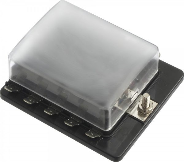 8684631 600x530 - 10 Gang ATO/ATC Common Bus Fused Distribution Block With Spade Terminals -DC32V 10 Way Circuit Car Automotive Auto Blade Fuse Box Holder With LED Lamp ATC ATO Suitable for all marine, motor-home, automotive & motorsport applications, including 6v, 12v & 24v systems (maximum voltage 32v) - fuse-holders - 8684631 600x530
