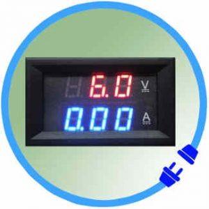 Amp + Volt Meters