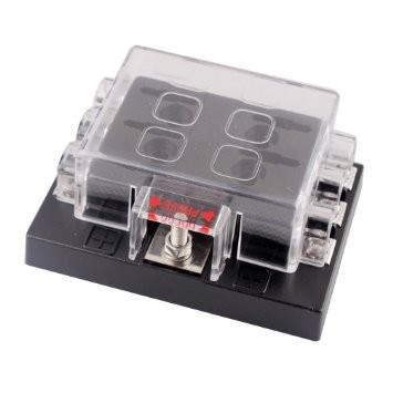dc32v 6 way terminals circuit car auto blade fuse box block holder atc ato 16646203 - 6 Gang ATO/ATC Common Bus Fused Distribution Block With Screw Terminals -DC32V 6 Way Circuit Car Automotive Auto Blade Fuse Box Holder With LED Lamp ATC ATO Suitable for all marine, motor-home, automotive & motorsport applications, including 6v, 12v & 24v systems (maximum voltage 32v) - fuse-holders - dc32v 6 way terminals circuit car auto blade fuse box block holder atc ato 16646203