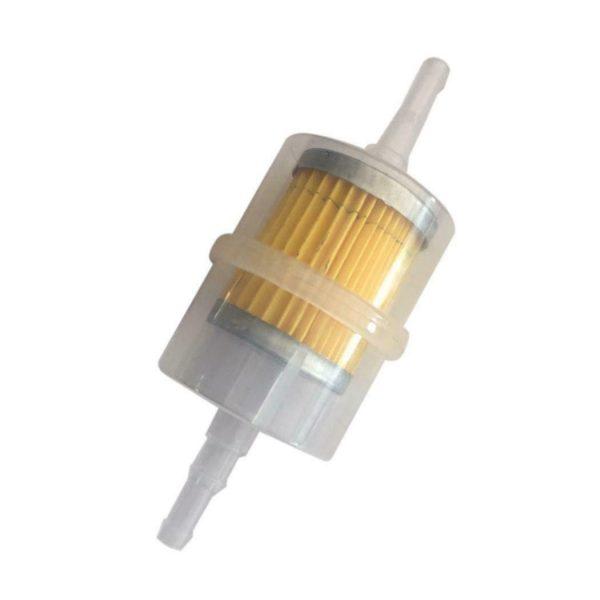 """2 2 600x600 - Inline Fuel Filter - Type 1 -<ul> <li>Size: 12.5 x 5.5 x 5.5cm/4.9 x 2.2 x 2.2inch</li> <li>Product Type: Petrol Filter</li> <li>Quantity: 1pcs</li> <li><strong>Features:</strong></li> <li>Easy to install.</li> <li>Suitable for 6mm (1/4"""") 8mm (5/16"""") hose use.</li> <li>Suitable for general Gasoline 0r Diesel</li></ul> - generator-parts-and-accessories - 2 2 600x600"""