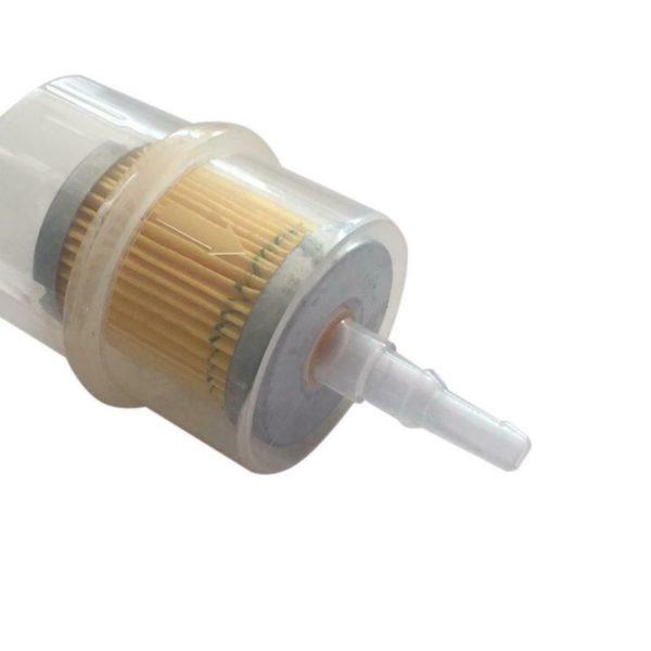 """3 2 600x600 - Inline Fuel Filter - Type 1 -<ul> <li>Size: 12.5 x 5.5 x 5.5cm/4.9 x 2.2 x 2.2inch</li> <li>Product Type: Petrol Filter</li> <li>Quantity: 1pcs</li> <li><strong>Features:</strong></li> <li>Easy to install.</li> <li>Suitable for 6mm (1/4"""") 8mm (5/16"""") hose use.</li> <li>Suitable for general Gasoline 0r Diesel</li></ul> - generator-parts-and-accessories - 3 2 600x600"""